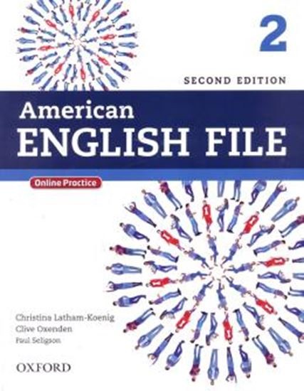 Picture of AMERICAN ENGLISH FILE 2 STUDENTS BOOK WITH ONLINE SKILLS - 2ND ED