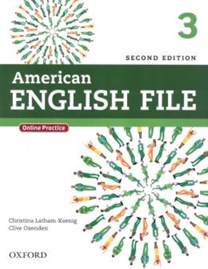 Picture of AMERICAN ENGLISH FILE 3 STUDENTS BOOK WITH ONLINE SKILLS - 2ND ED