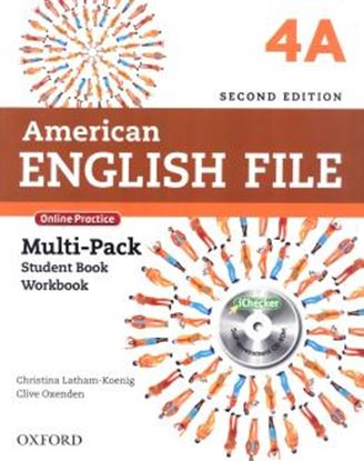 Imagem de AMERICAN ENGLISH FILE 4A MULTIPACK - 2ND ED