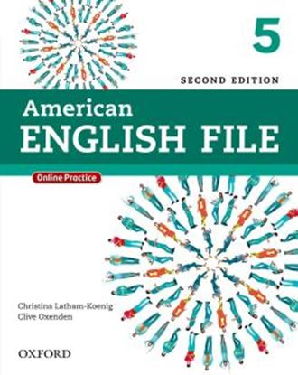 Imagem de AMERICAN ENGLISH FILE 5 STUDENTS BOOK WITH  ONLINE SKILLS - 2ND ED