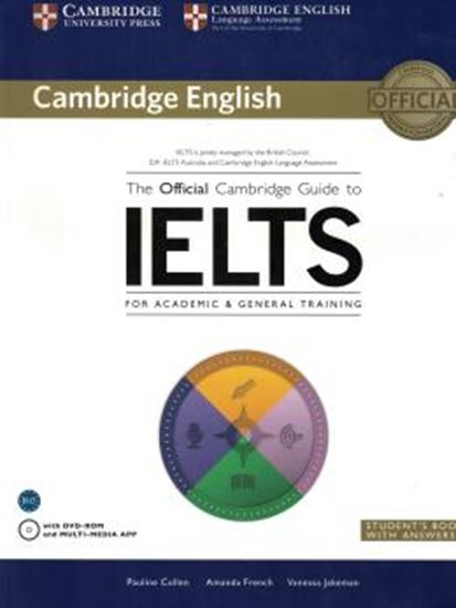 Picture of OFFICIAL CAMBRIDGE GUIDE IELTS STUDENTS BOOK WITH ANSWER WITH DVDROM