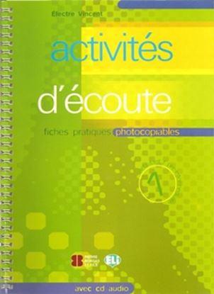 Imagem de ACTIVITES D´ECOUTE 1 AVEC AUDIO CD