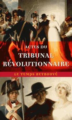 Imagem de ACTES DU TRIBUNAL REVOLUTIONNAIRE