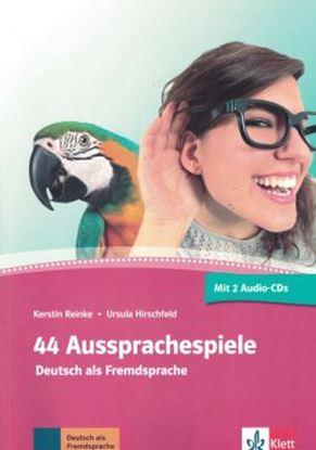 Imagem de 44 AUSSPRACHESPIELE - (2) CDS
