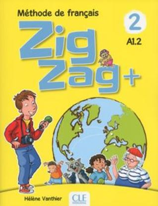 Imagem de ZIGZAG+ 2 - LIVRE DE L´ELEVE + CD AUDIO - 2ª ED