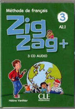 Imagem de ZIGZAG+ 3 - 3 CDS AUDIO COLLECTIF - 2EME ED.
