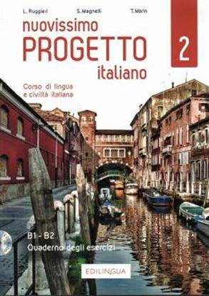 Imagem de NUOVISSIMO PROGETTO ITALIANO 2 - QUADERNO DEGLI ESERCIZI + 2 CD AUDIO